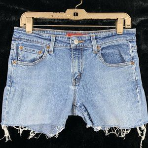 Levis 7 Cut Off Jean Shorts AS IS DIY Project